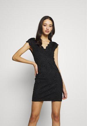 ONLALBA VNECK DRESS - Cocktail dress / Party dress - black
