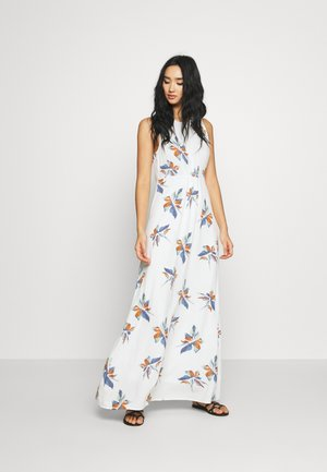ONLCARRIE DRESS - Maxi-jurk - cloud dancer/nature mix