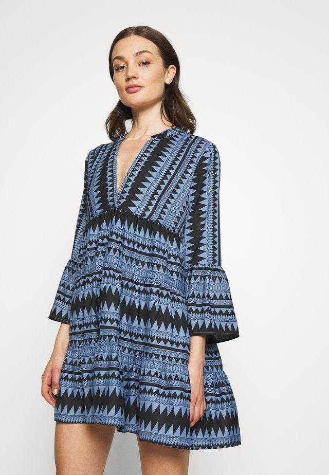 ONLNAYA ATHENA 3/4 DRESS - Vestido informal - black/infinity blue