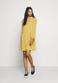 ONLY - ONLSUNNY DRESS  - Robe d'été - misted yellow/flowers - 0