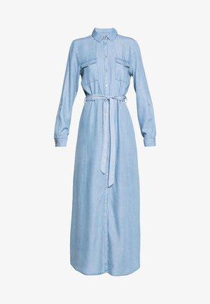 ONLMIRANDA LONG SHIRT DRESS - Maxikjole - light blue denim