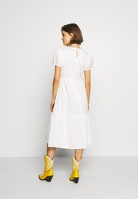 ONLY - ONLSANNIE CALF DRESS - Day dress - cloud dancer - 3
