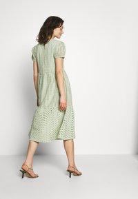 ONLY - ONLSANNIE CALF DRESS - Kjole - desert sage - 3