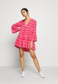 ONLY - ONLLUCCA ATHENA DRESS - Day dress - pink lemonade - 2