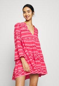 ONLY - ONLLUCCA ATHENA DRESS - Day dress - pink lemonade - 0