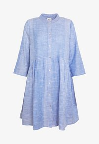 ONLY - ONLCHICAGO LIFE STRIPE DRESS - Day dress - cloud dancer/medium blue - 5