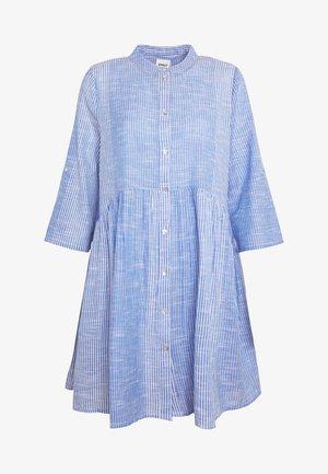 ONLCHICAGO LIFE STRIPE DRESS - Day dress - cloud dancer/medium blue