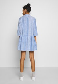 ONLY - ONLCHICAGO LIFE STRIPE DRESS - Day dress - cloud dancer/medium blue - 3