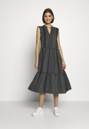 ONLNEW ATHENA DRESS - Day dress - black/white