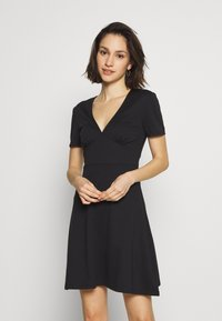 ONLY - ONLNICOLA DRESS - Day dress - black - 0