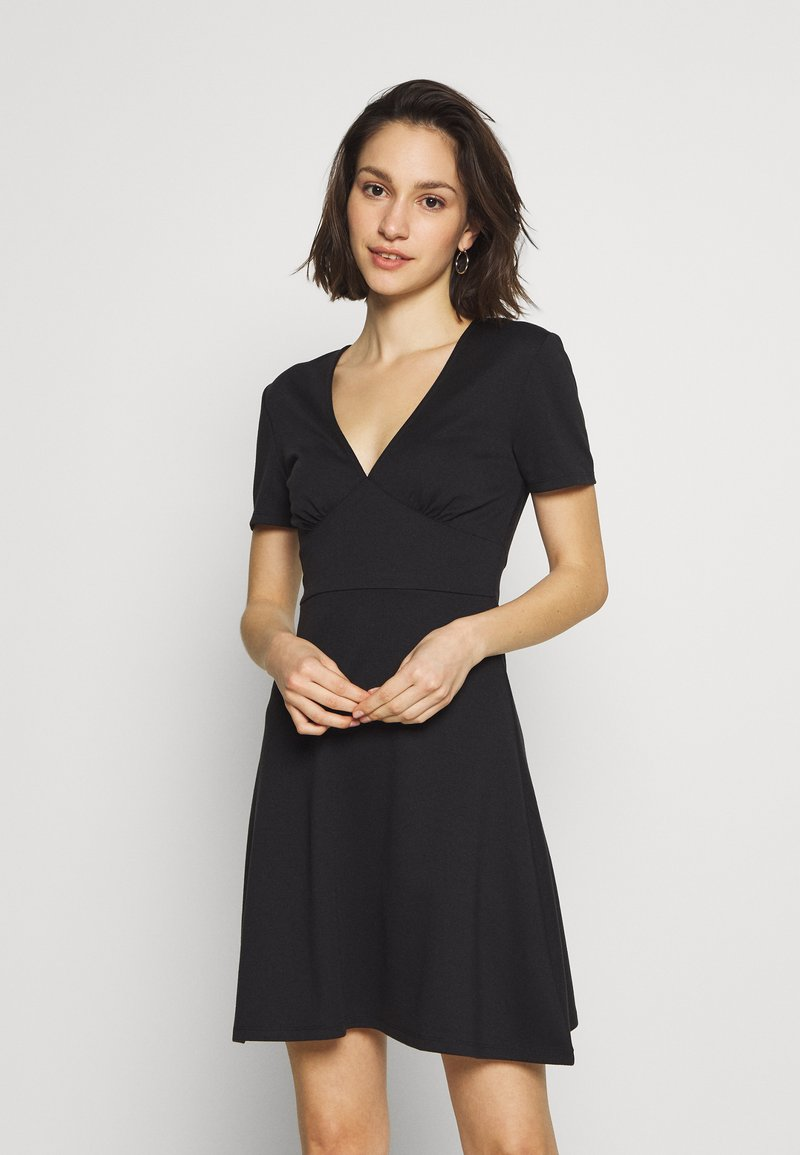 ONLY - ONLNICOLA DRESS - Day dress - black