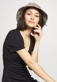 ONLY - ONLNICOLA DRESS - Day dress - black - 4