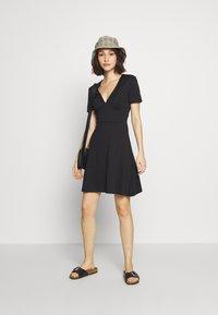 ONLY - ONLNICOLA DRESS - Day dress - black - 1