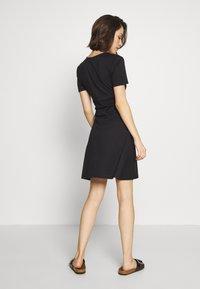 ONLY - ONLNICOLA DRESS - Day dress - black - 2
