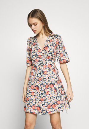 ONLHEYDAISY WRAP DRESS - Kjole - night sky