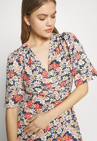 ONLY - ONLHEYDAISY WRAP DRESS - Kjole - night sky - 4