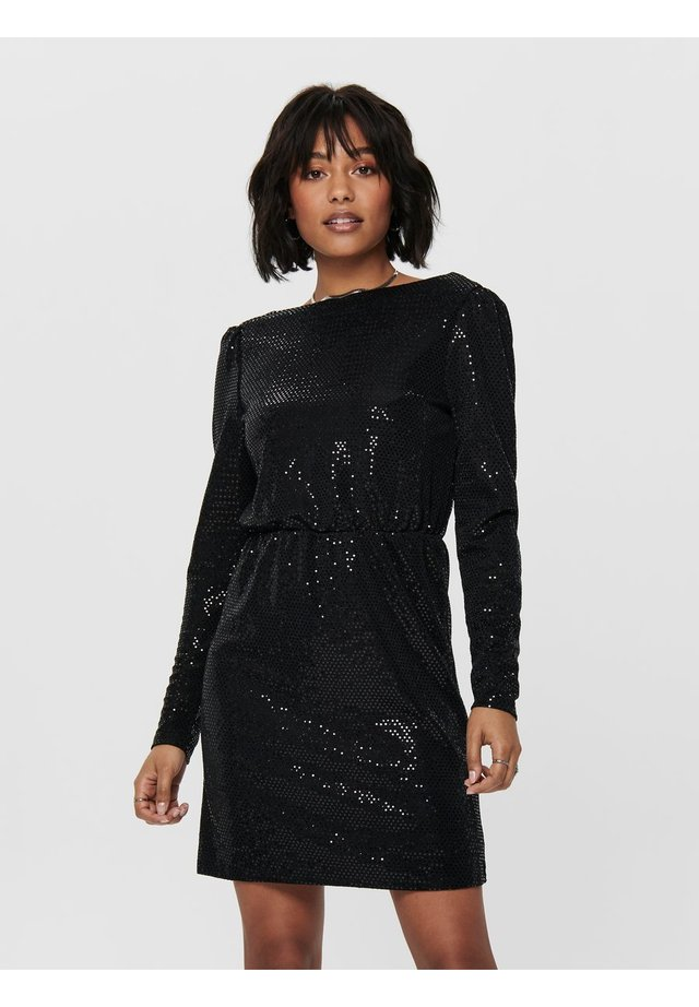 PAILLETTEN - Cocktail dress / Party dress - black