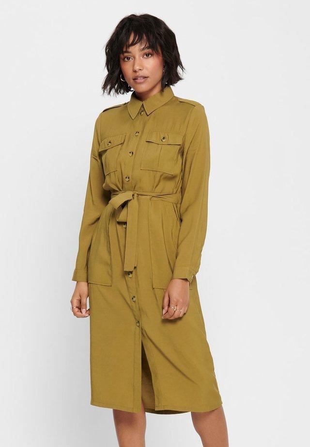 Vestido camisero - butternut
