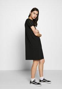 ONLY - ONLVANNA DRESS - Jersey dress - black - 1