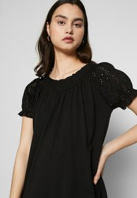 ONLY - ONLVANNA DRESS - Jersey dress - black - 3
