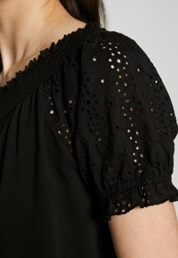 ONLY - ONLVANNA DRESS - Jersey dress - black - 5