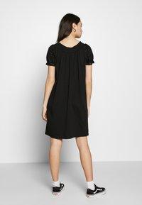 ONLY - ONLVANNA DRESS - Jersey dress - black - 2
