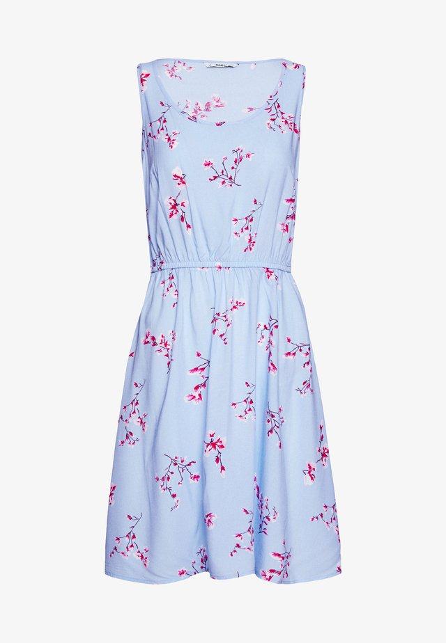 ONLNOVA LIFE SARA DRESS - Korte jurk - light blue