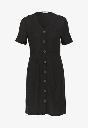 ONLVIVA LIFE - Shirt dress - black