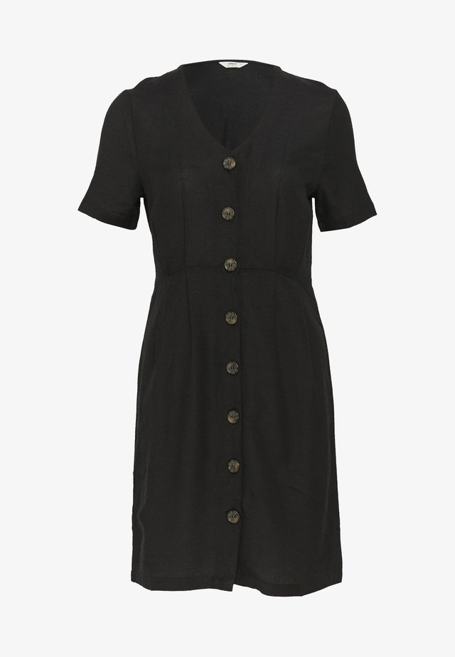 ONLVIVA LIFE - Vestido camisero - black
