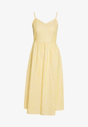 ONLVIVIAN CANYON LONG LIFE DRESS - Kjole - golden spice/cloud dancer