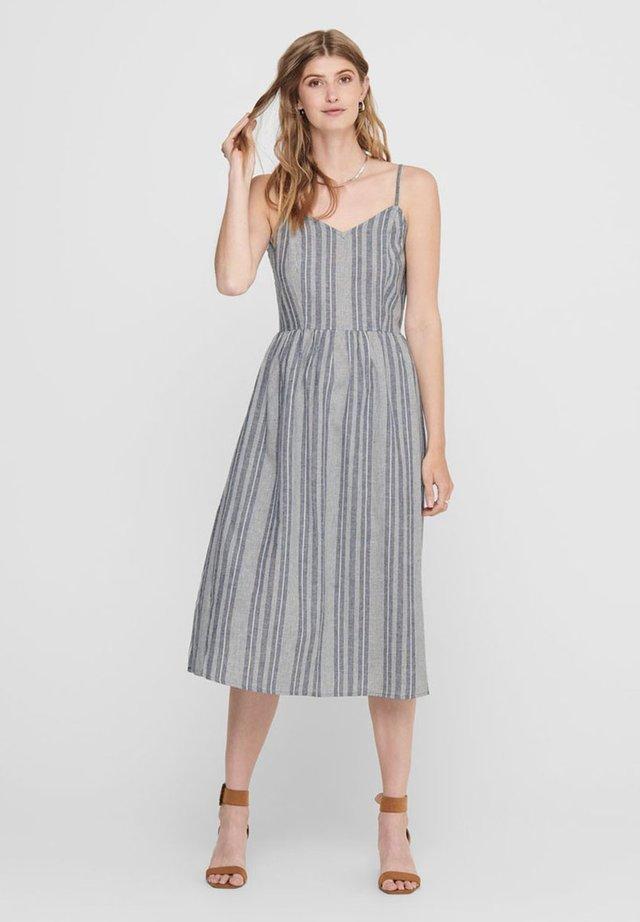 ONLVIVIAN CANYON LONG LIFE DRESS - Vestido informal - insignia blue