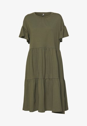 ONLTENNA LIFE CUTLINE DRESS - Vestido ligero - kalamata