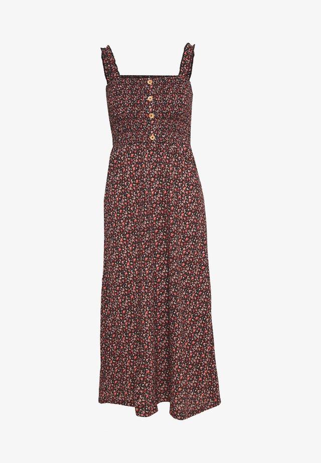 ONLPELLA DRESS - Vestido ligero - black/route ditsy
