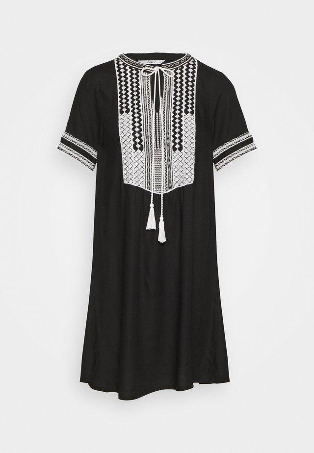 ONLLINE DRESS  - Korte jurk - black