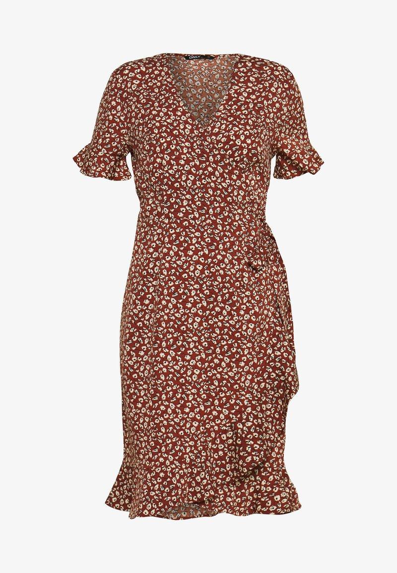 ONLY - Korte jurk - henna