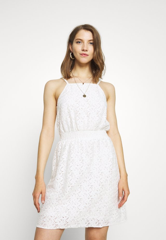 ONLOLA SHORT DRESS - Vestido informal - cloud dancer