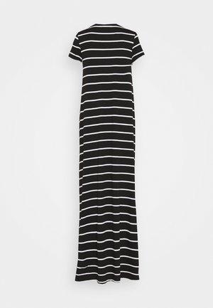 ONLMAY LIFE - Maxi šaty - black/cloud dancer