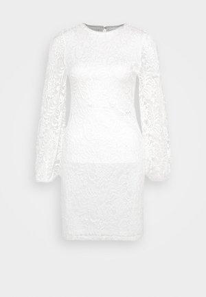 ONLALBA BALLOON DRESS - Sukienka koktajlowa - cloud dancer