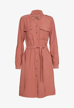 ONLACACIA ARIS SHIRT DRESS - Skjortekjole - apple butter