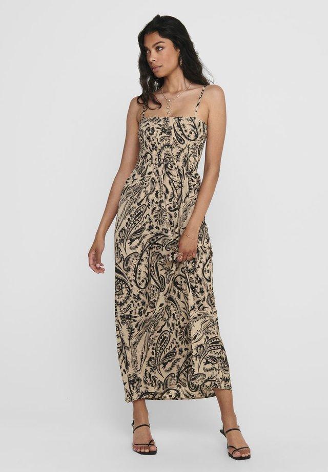 Vestido largo - warm taupe