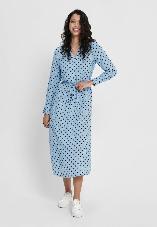 Korte jurk - cashmere blue