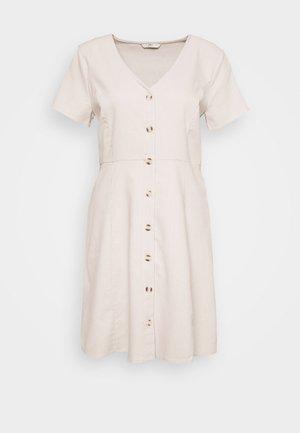 ONLLORELLE SHORT DRESS - Day dress - pumice stone