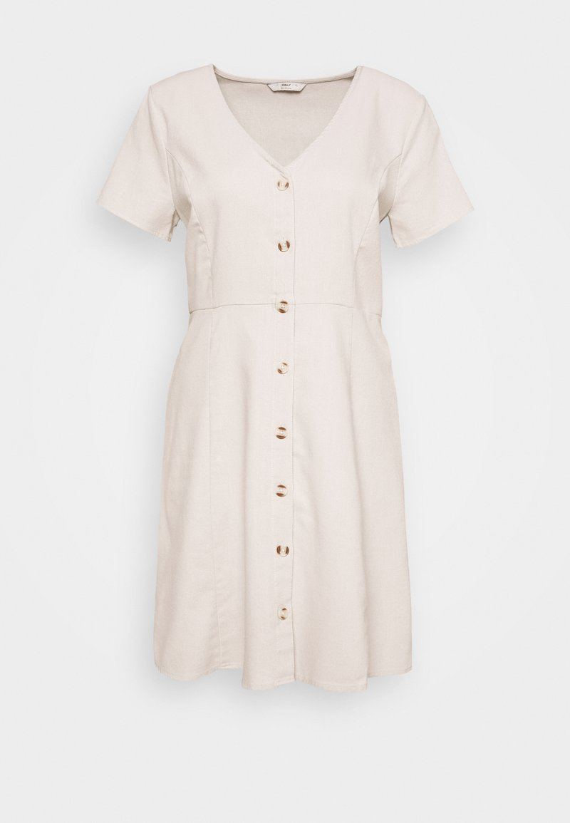 ONLY - ONLLORELLE SHORT DRESS - Day dress - pumice stone