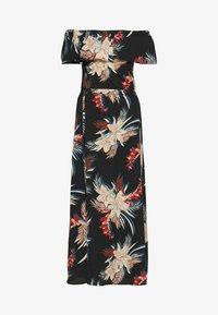ONLY - ONLALMA LIFE POLY OFF SHOULDER - Maxi dress - black - 0