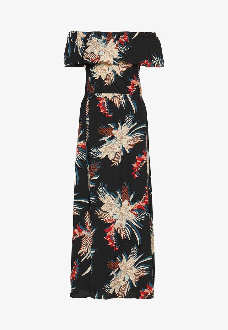 ONLY - ONLALMA LIFE POLY OFF SHOULDER - Maxi dress - black