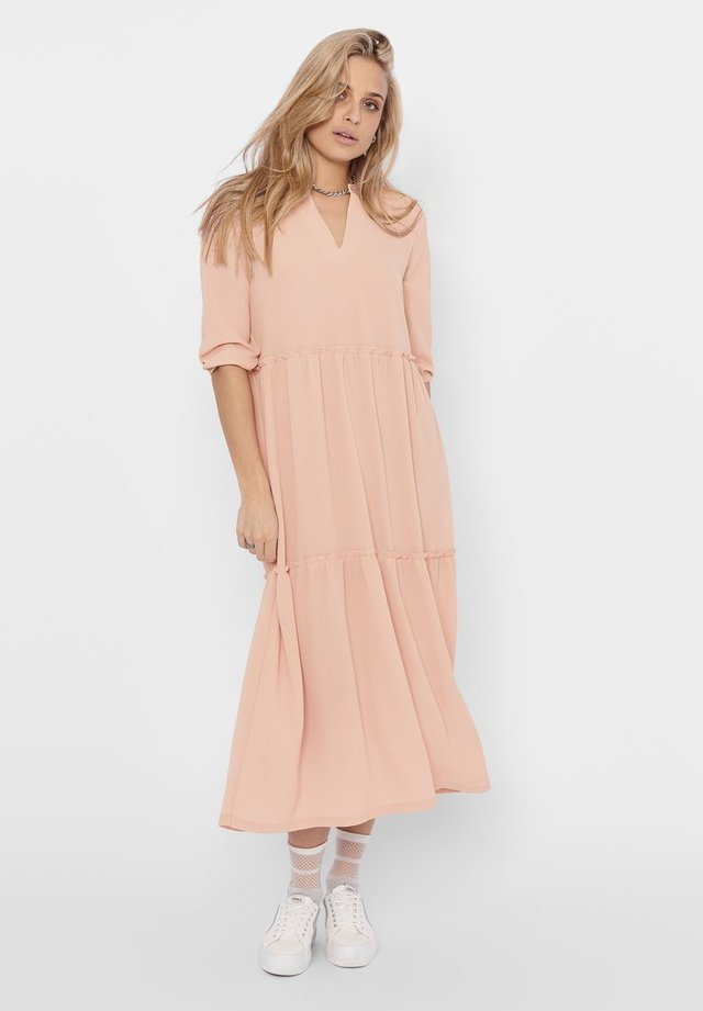 Korte jurk - rose smoke