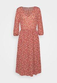 ONLY - ONLPELLA DRESS - Vapaa-ajan mekko - mineral red - 0
