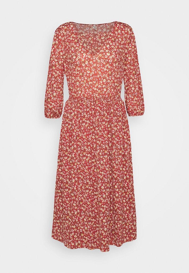 ONLY - ONLPELLA DRESS - Vapaa-ajan mekko - mineral red