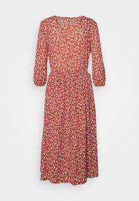 ONLY - ONLPELLA DRESS - Vapaa-ajan mekko - mineral red - 1