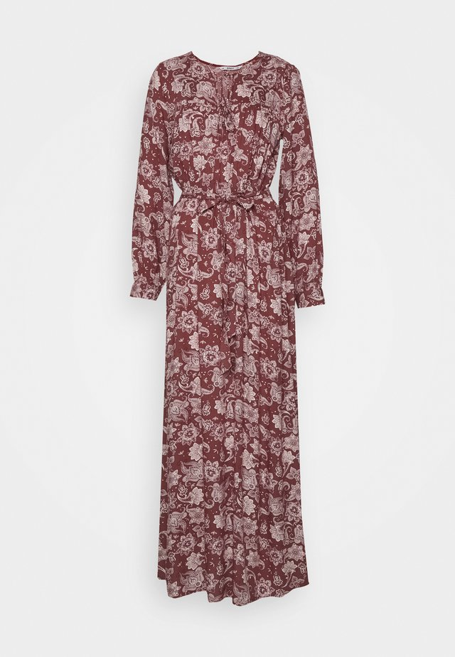 ONLVIRGINIA LIFE LONG DRESS - Maxikjoler - burnt henna